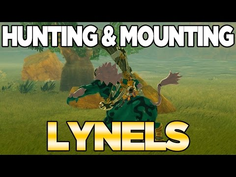 Mounting a Lynel in Breath of the Wild - CAN WE DO IT!?!?!?