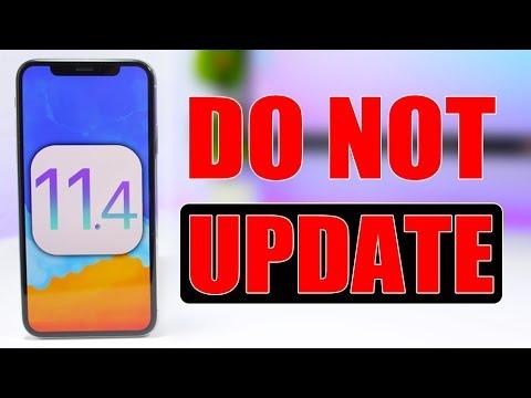 iOS 11.4 Beta ** DO NOT Install It **