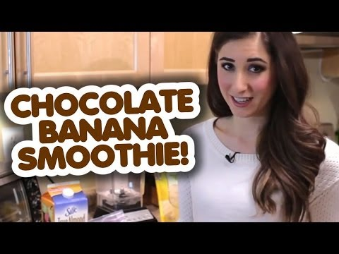 Super Healthy Chocolate Banana Smoothie!