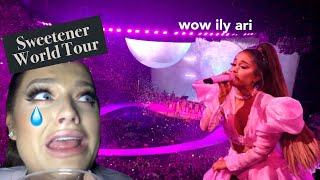 GRWM (VLOG!!): I WENT TO SEE ARIANA GRANDE ON TOUR!!! *I cried* | Rachel Leary