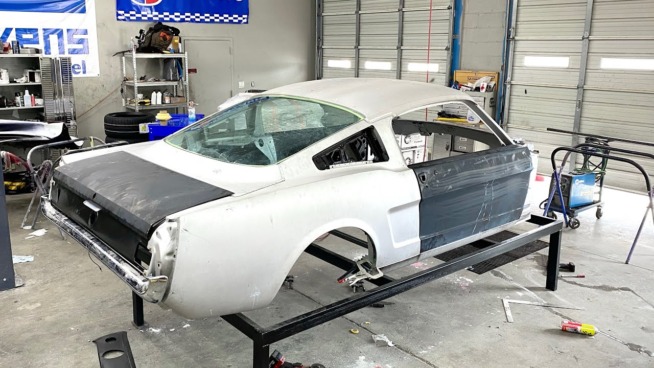 Building a 1966 Ford Mustang Fastback - Episode 3