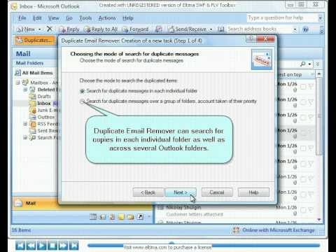 How to remove email duplicates in Microsoft Outlook