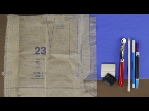How to Mark Your Fabric For Sewing - Updated