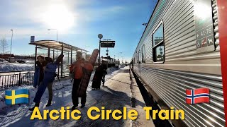 My Incredible Trip On The Arctic Circle Sleeper Train (2019)
