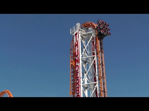 Thunderbolt Roller Coaster Coney Island....  Awesome !!!