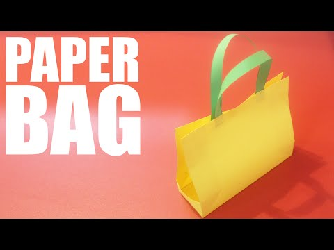 How to make a paper bag with a4 paper - DIY paper bag
