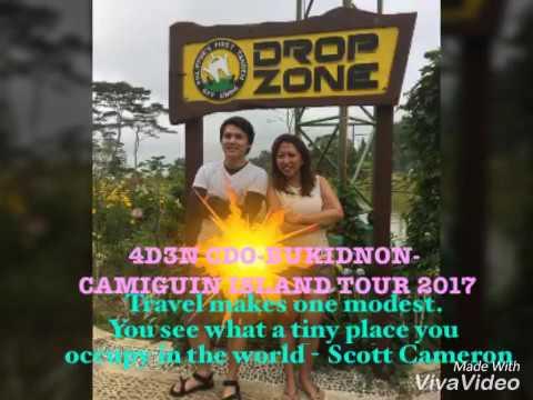 4D3N CDO-Bukidnon-Camiguin Island Tour 2017