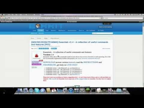 How to Install Essentials Plugin on a Bukkit 1.8.1+ Server Mac/PC [HD] [Permissions]
