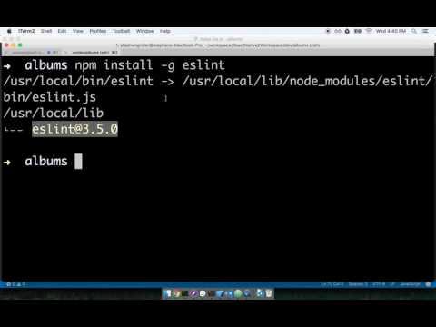 ESLint Setup with VSCode