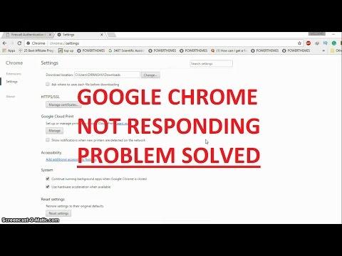 Google Chrome not responding in Windows 10: How to fix