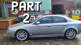 Alfa Romeo 159 thats spent its life sleeping with the fishes PART 2