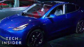 Download Watch Elon Musk Unveil The Tesla Model Y SUV Video