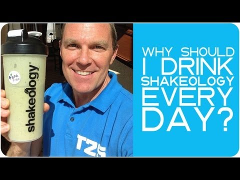 Why should I drink Shakeology every day?