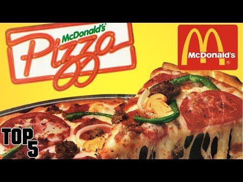 Top 5 Discontinued McDonald's Items We Miss