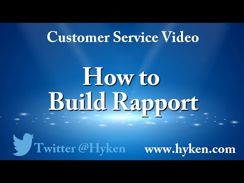 Customer Service Tip: How to Build Rapport