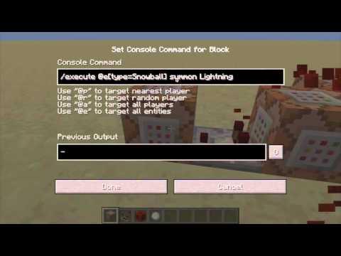 minecraft commandblock