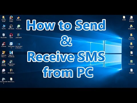 How to Send or Receive SMS & Get Phone Calls on PC for Free