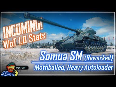 INCOMING! Somua SM Stats (Reworked) || World of Tanks