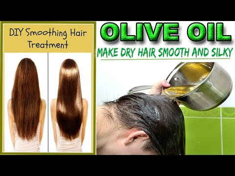 How to Use Olive Oil For Dry Hair - Make Dry Hair Smooth and Silky - Olive Oil For Dry Hair