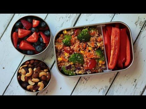 3 Healthy Quinoa Recipes | Back to School Lunch Ideas