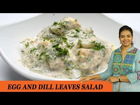 EGG AND DILL LEAVES SALAD