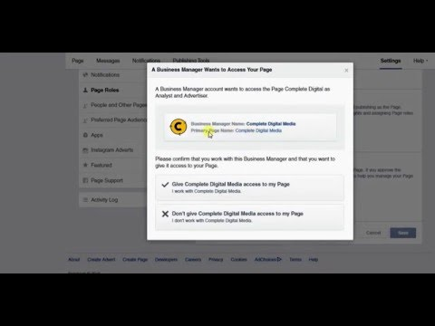 How To Accept A Facebook Page Advertiser Request
