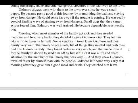 GED RLA/How an extraordinary dog help his sick family/ True story.
