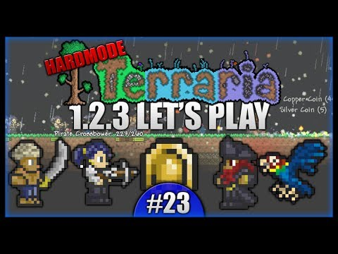 Battling The Pirate Invasion! Rare Lucky Coin! || Let's Play Terraria 1.2.3 [Episode 23]