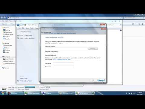 How to Backup System Files in Windows 7
