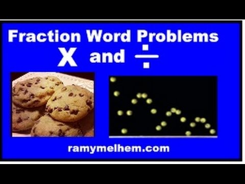 Fraction Multiplication and Division Word Problem
