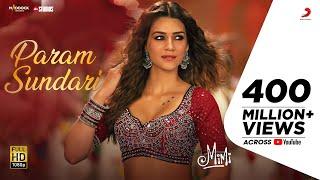 Param Sundari -Official Video | Mimi | Kriti Sanon, Pankaj Tripathi | @A. R. Rahman| Shreya |Amitabh