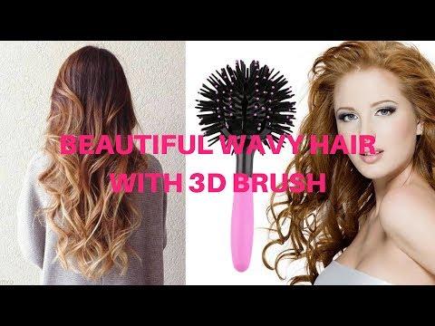 3D Round Hair Brush
