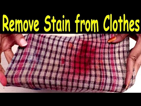 Easy Ways To Remove Stains From Clothes || Life Hacks || SumanTV
