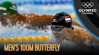 Men's 100m Butterfly Final | Rio 2016 Replay