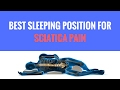 Best Position to Sleep with Sciatica Pain Shown by St. Joseph MI Chiropractor