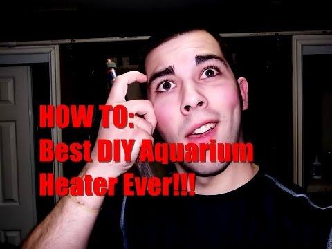 HOW TO: Best DIY Aquarium Heater Ever!!