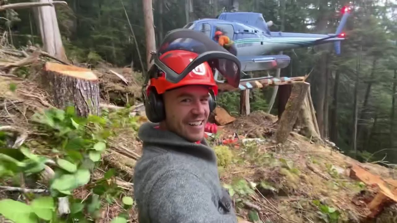 Starting new block, steep ground, big wood and a sweater update