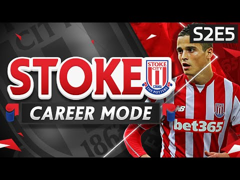 FIFA 16 Stoke Career Mode - PREMIER LEAGUE CONTENDERS?!  - S2E5