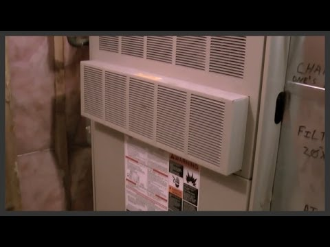 How to change the furnace filter