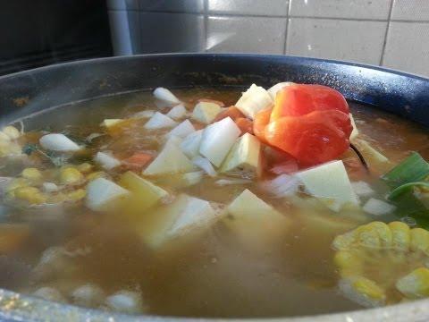 Chicken Soup Recipe Videos The Caribbean   Recipes By Chef Ricardo
