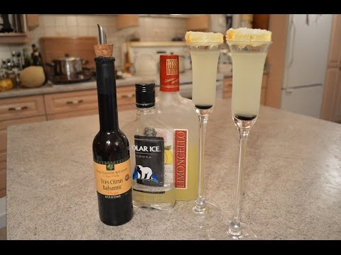 Balsamic Limoncello Drop Shots: Wine Country Kitchens with Kimberly