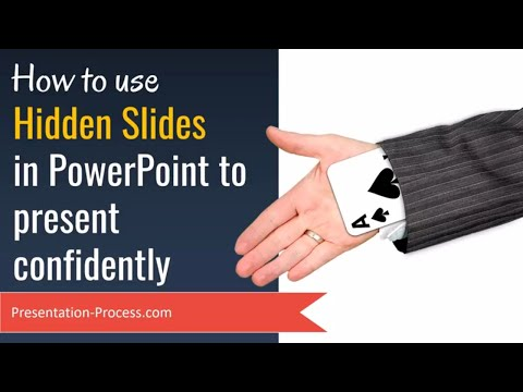 PowerPoint Tips: Use Hidden Slides to Present Confidently