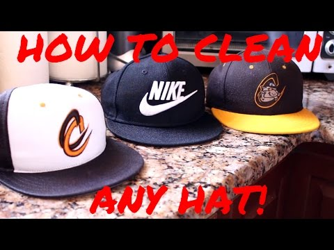 HOW TO CLEAN ANY HAT!