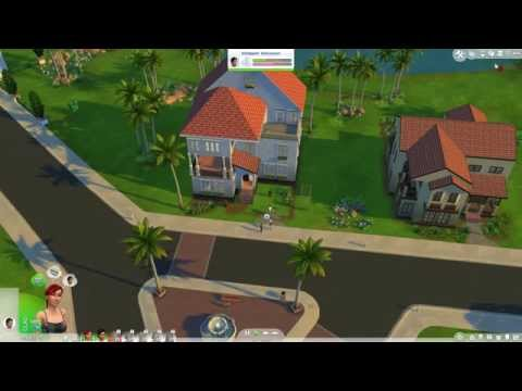 How to change camera perspective in the sims 4