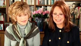 Jane Fonda With Marlo Thomas