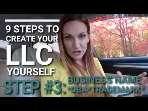 How to Choose Your Business Name and DBAs/Trademarks (Form your LLC Business in 5 Days