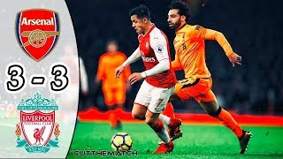 Liverpool vs Arsenal (3-3) - All Goals & Highlights HD - EPL