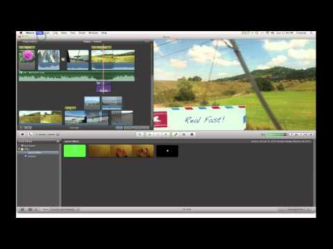 iMovie 11 Quick Tip - Turn Off Automatic Transitions