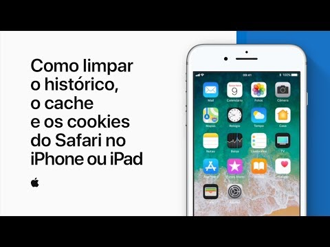 Como limpar o histórico, o cache e os cookies do Safari no iPhone ou iPad — Suporte da Apple