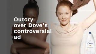 Outcry over Dove